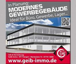 TOPLAGE - Modernes Gewerbegebäude in Planung, zwischen Waldshut und Tiengen !